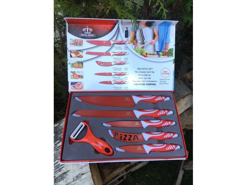 Coffrets 5 couteaux de cuisine et éplucheur