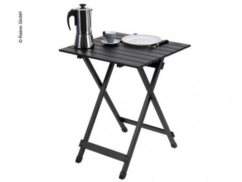 Table aluminium 50x50 cm NOIR