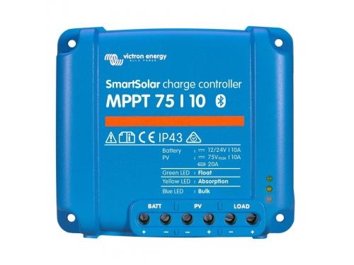 RÉGULATEUR DE CHARGE SOLAIRE SMARTSOLAR MPPT 75/10 (12/24V) - VICTRON ENERGY