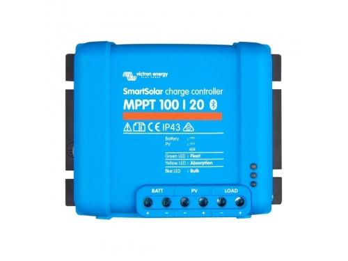 RÉGULATEUR DE CHARGE SOLAIRE SMARTSOLAR MPPT 100/20 - VICTRON ENERGY