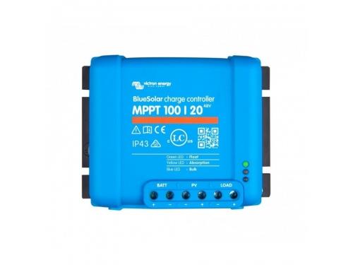 RÉGULATEUR DE CHARGE SOLAIRE BLUESOLAR MPPT 100/20 - VICTRON ENERGY