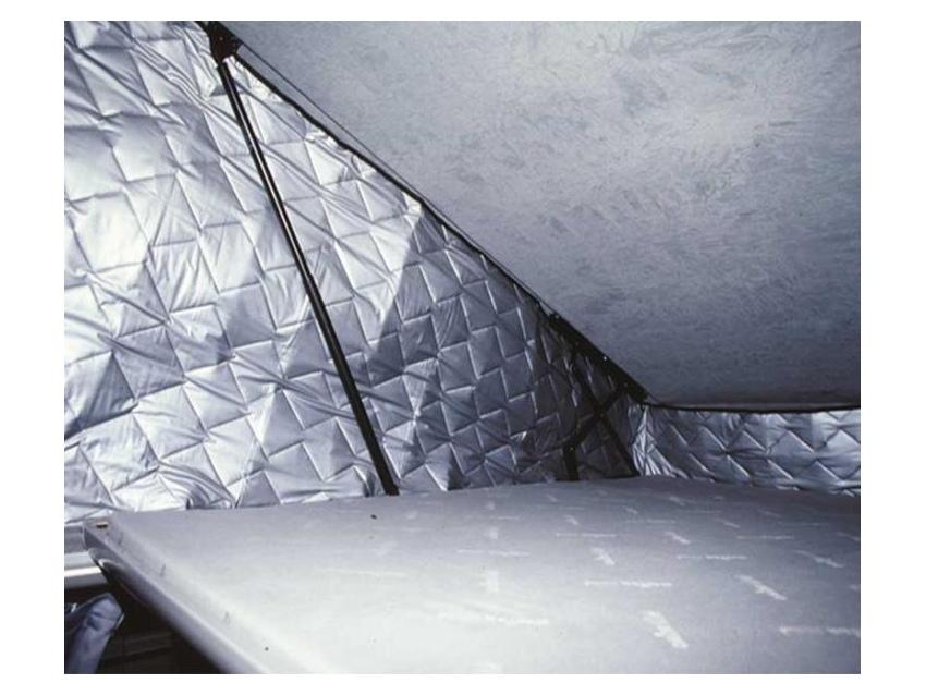 Isolant Thermique pour toit relevable Reimo VW T5/6 empattement court .