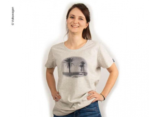 T-shirt Femme gris VW - Taille 34