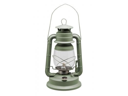 Lampe tempête transportable kaki Hauteur 35 cm