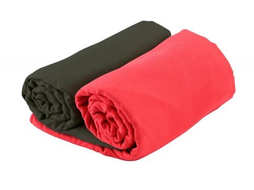 Serviette super absorbante et légère 120 x 60 cm avec filet de rangement