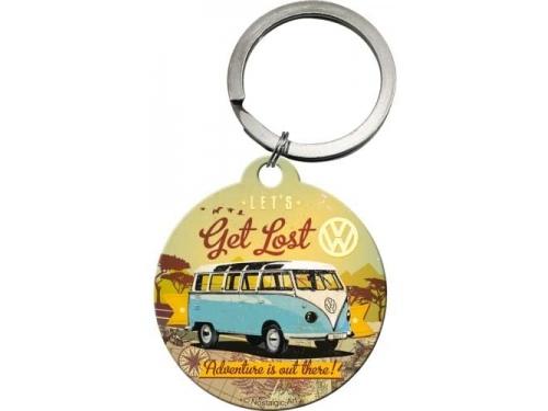 Porte clé rond Volkswagen Collection Get Lost