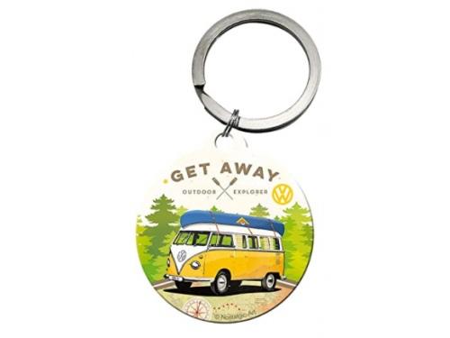 Porte clé rond Volkswagen Collection Get Away