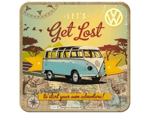 Dessous de verre Volkswagen Collection Get Lost - Lot de 5