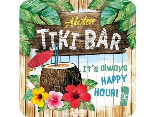 Dessous de verre Collection Tiki Bar - Lot de 5