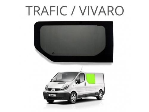 Vitre cloison gauche Renault Trafic, avant 2015