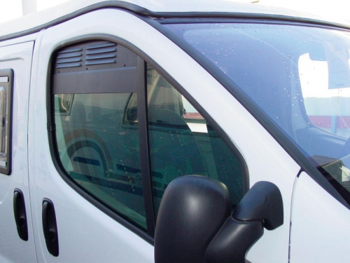 Grille d'aération pour Renault Trafic et Opel Vivaro jusqu'à 2014