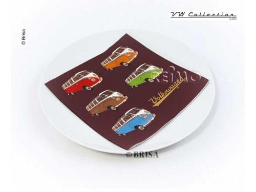 Serviettes Colored Samba VW collection