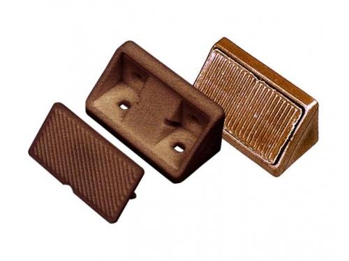 Connecteurs de meubles marron clair