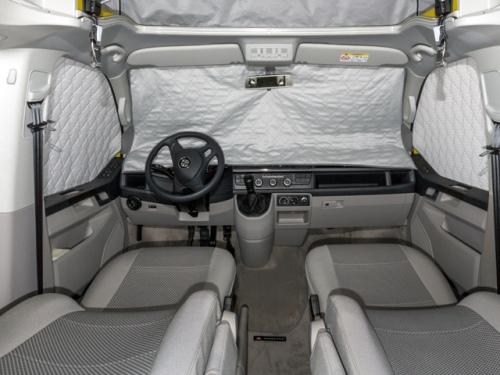 Isolant BRANDRUP Extreme pour les fenêtres de la cabine T6 VW, en 3 pièces avec senseur