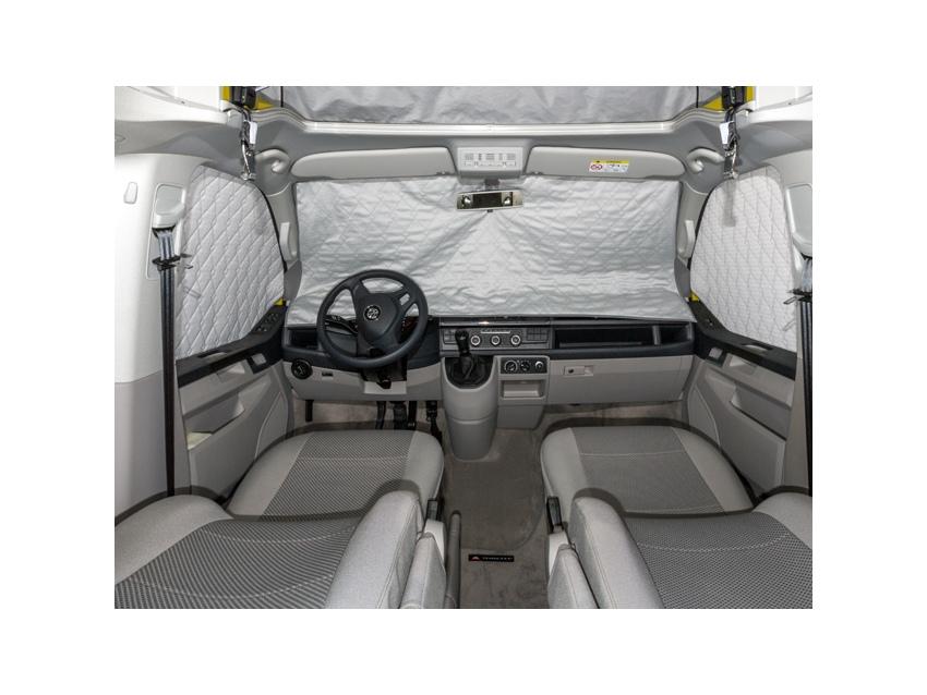 ISOLITE Extreme pour les fenêtres de la cabine T6 VW, en 3 pièces avec senseur