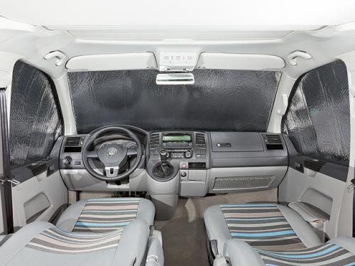 Isolant BRANDRUP Inside pour les fenêtres de la cabine, en 3 pièces, T6 VW sans senseur