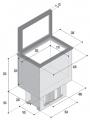 Réfrigérateur Coffre TL20 Vitrifrigo