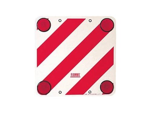 Plaque de signalisation arrière