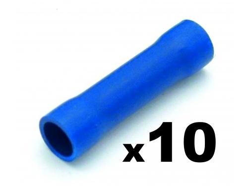 Cosse tube électrique BLEUE