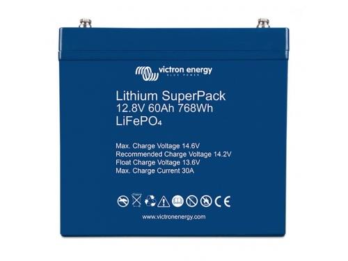 BATTERIE LITHIUM SUPERPACK 12,8V/60AH - VICTRON ENERGY (BMS INTÉGRÉ)
