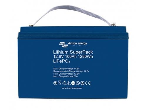 BATTERIE LITHIUM SUPERPACK 12,8V/100AH - VICTRON ENERGY (BMS INTÉGRÉ)