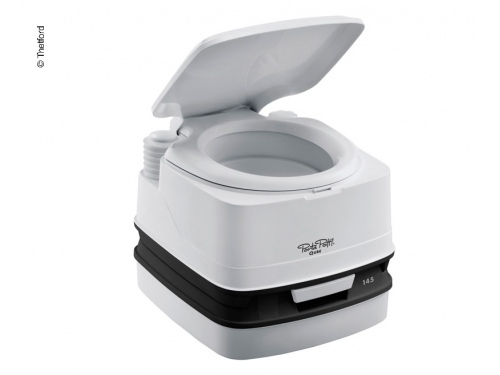 Toilette chimique bi-pot 145 gris Potti