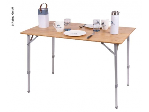 Table en bambou et aluminium HOLIDAY TRAVEL