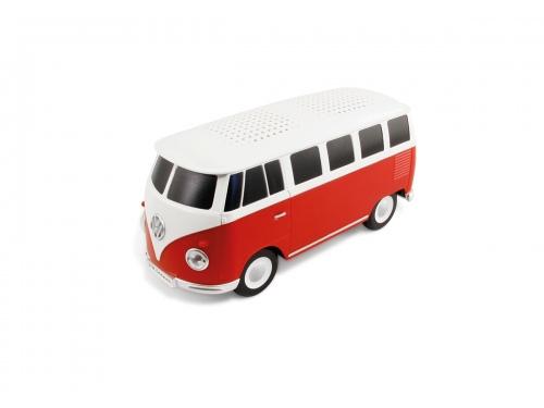 ENCEINTE BLUETOOTH VW T1 BUS ROUGE & BLANC