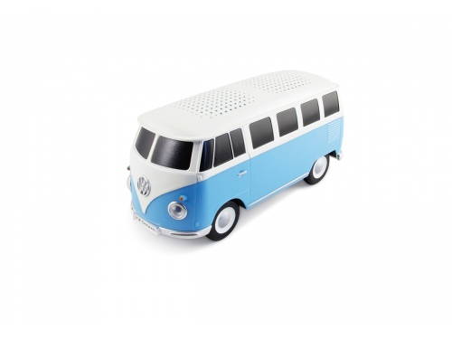 ENCEINTE BLUETOOTH VW T1 BUS BLEU & BLANC