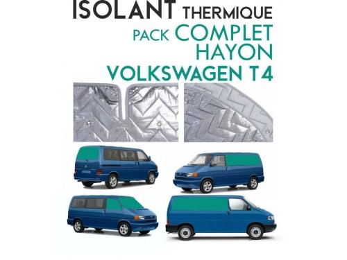 8 Pièces. Hayon. L2H1.ISOLANT OCCULTANT THERMIQUE ALUMINIUM VOLKSWAGEN TRANSPORTER T4