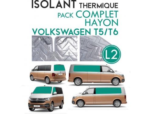 8 Pièces. Hayon. L2H1.ISOLANT OCCULTANT THERMIQUE ALUMINIUM VOLKSWAGEN TRANSPORTER T5 T6.