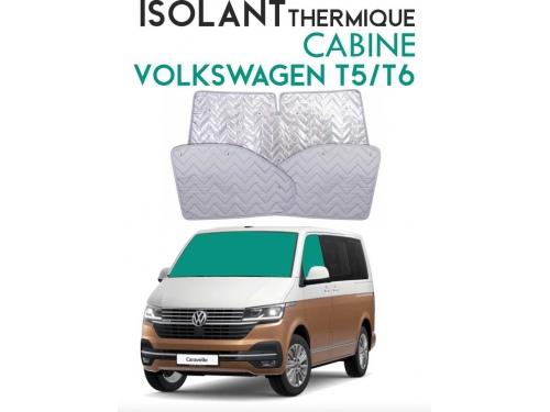 Isolant thermique alu cabine Volkswagen Transporter T5 / T6