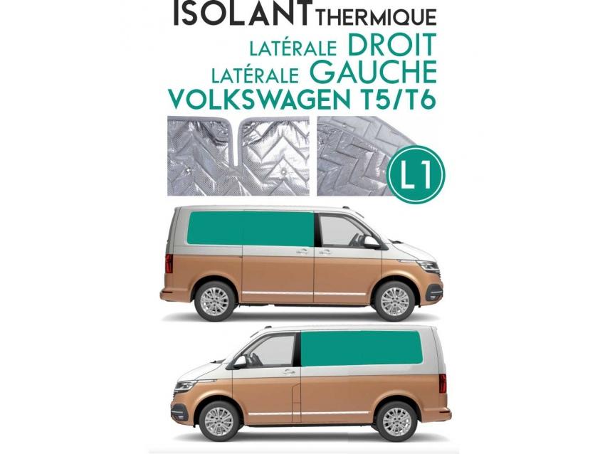 Isolant thermique alu Volkswagen T5 - T6 Espace arrière L1H1