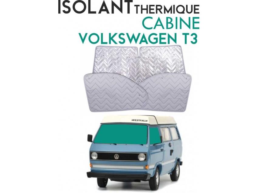 Isolant thermique alu cab VW-T3 tous les modèles de l'année 1979-1990