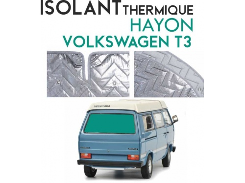 Isolant thermique Hayon Volkswagen T3