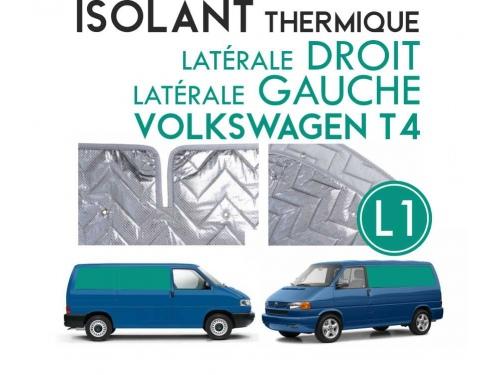 Isolant thermique Volkswagen T4 de 1990-03 en 4 parties (salon) à empattement court