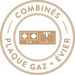 Combiné gaz et évier