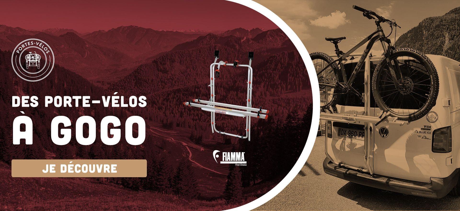 Porte vélo pour Camping Car