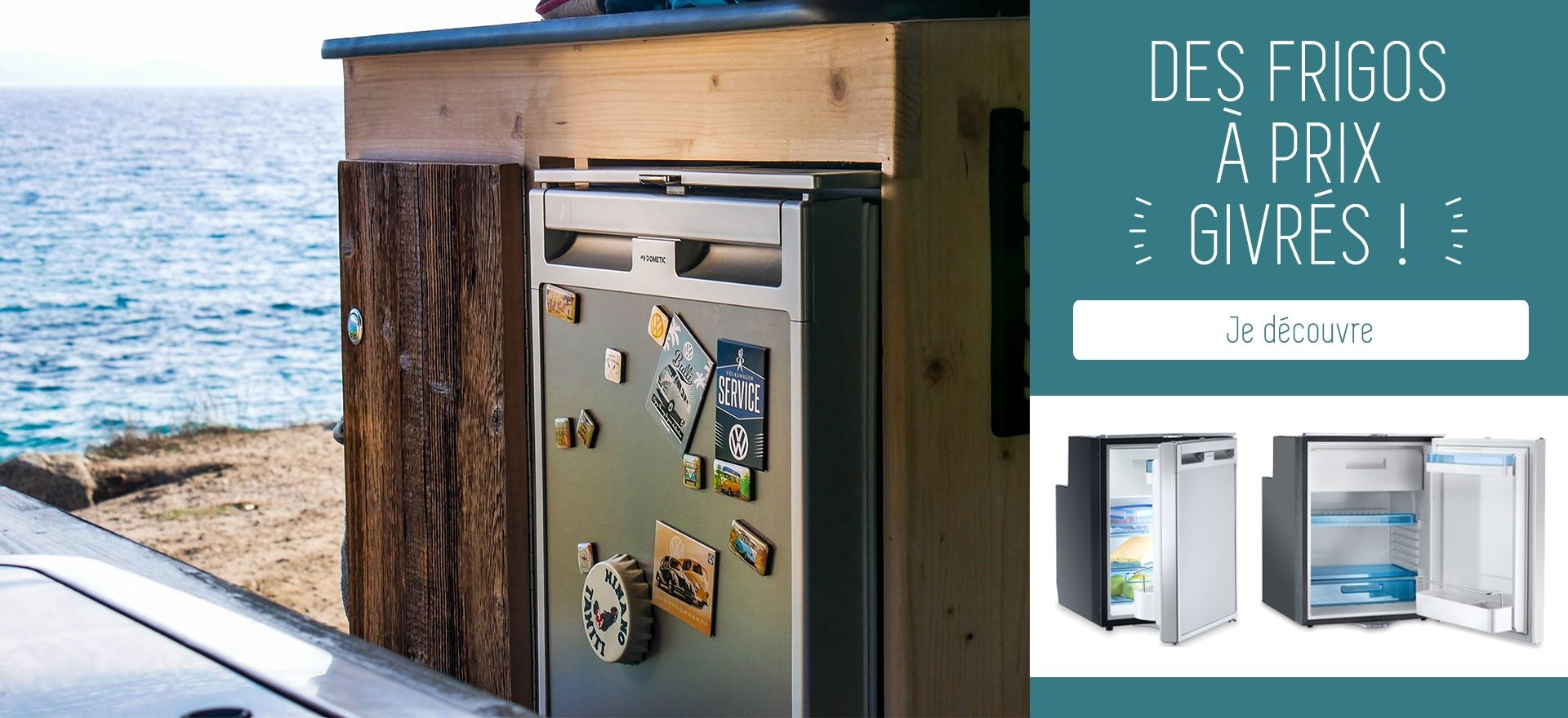 Refrigerateur camping Car